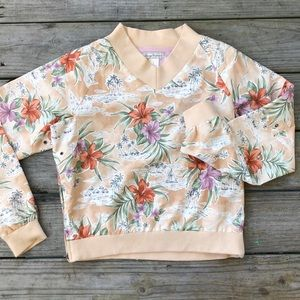 Tommy Bahama windbreaker top